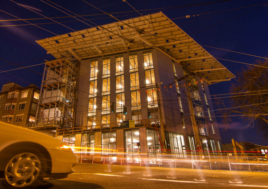 Net Zero Energy Bullitt Center Solar Design Associates