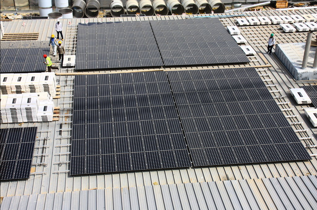 KAUST Rooftop Photovoltaic System